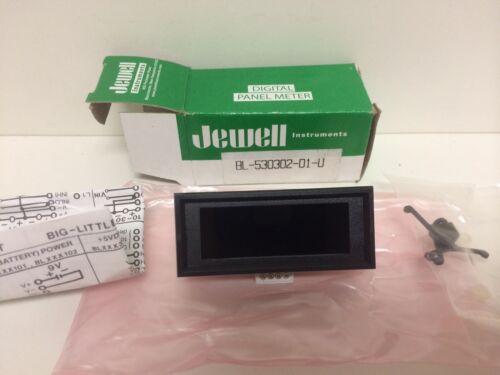 NEW IN BOX JEWELL MODUTEC DIGITAL PANEL VOLTMETER BL-530302-01-U