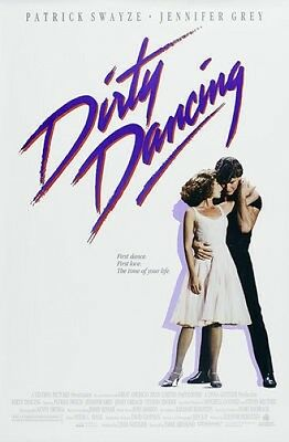 DIRTY DANCING  A4 MOVIE POSTER PRINT