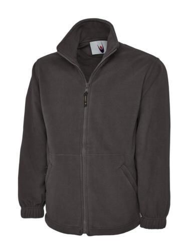 Uneek Classico Full Zip Micro Pile Giacca Casual Abbigliamento da lavoro super riscaldante da uomo TOP