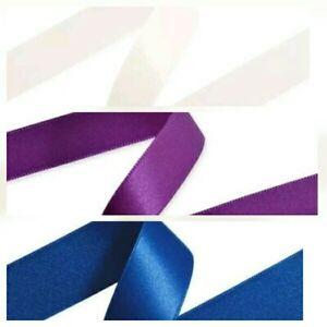 + 100 M Double Face Ruban De Satin (rolls) 50 Mm Largeurs Blanc/bleu Marine/violet 10,6.-ple 10,6. Fr-fr Afficher Le Titre D'origine