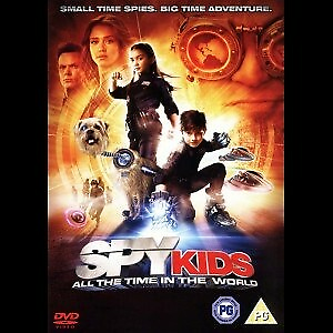 Spy Kids 4: All The Time In The World, DVD, familiefilm,…