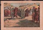 Abd El Krim Canon mohamed Azerkane Guerre du Rif Maroc Morocco 1925 ILLUSTRATION