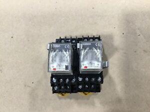 Omron MY4N 200//220 VAC Relay w// Base