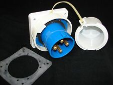 New Hubbellbryant Hbl4100b9w 100 Amp 100a Reverse Service Pin Amp Sleeve Inlet