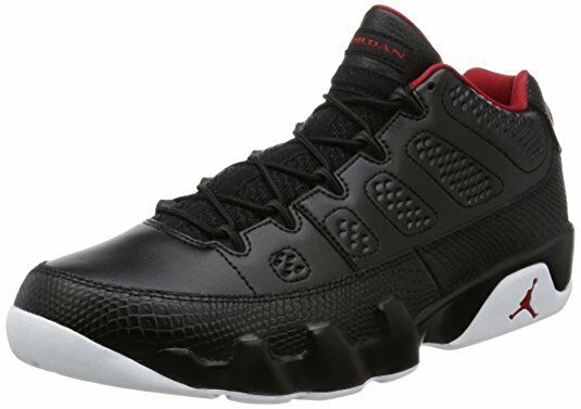 Jordan Retro 9 Low Pantone MEN Black Red US 9 EUR 43 Basketball shoes