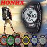 Luxury Men Watch Digital LED Alarm Date Quartz Sports Wrist Watches Waterproof