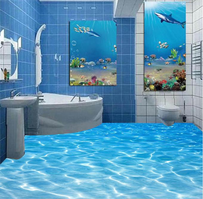 3D Blau Pool 64 Fototapeten Wandbild Fototapete Tapete Familie DE Lemon