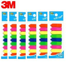 3m Post It Flags 584 9 Bookmark Point Sticky Note Plastic Paper Index X 6 Pcs