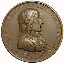 France Napoleon I Bonaparte Treaty Of Campo Formio Paris Mint Medal Hennin811var