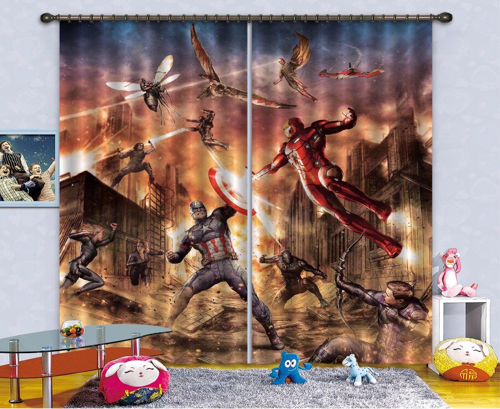 3d guerreros ciudad bloqueo 578 cortina de fotografía cortina de impresión sustancia cortinas de ventana