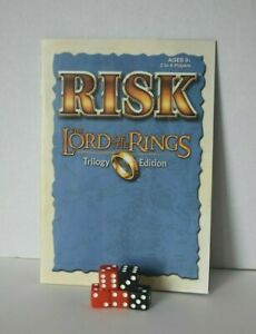RISK-Lord-of-the-Rings-Game-TRILOGY-Edition-Replacement-Instruction-Rule-5-Dice