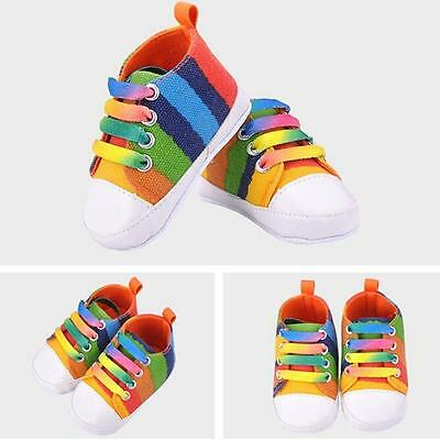 Toddler Newborn Shoes Baby Infant Kids Boy Girl Soft Sole Canvas Sneaker Hot S02