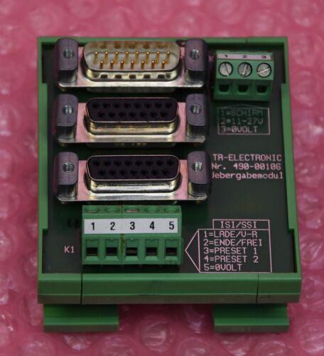 TR-ELECTRONIC Übergabemodul  Typ Phoenix Contact UMK-SE 11,25-1 490-00106