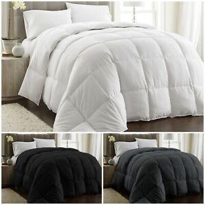 Chezmoi Collection Goose Down Alternative Comforter/Duvet Cover Insert 3 Colors