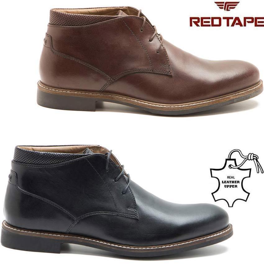 botas para Hombre de Cuero Chelsea Tobillo Desierto Chukka botas Motorista librar Formal Zapatos