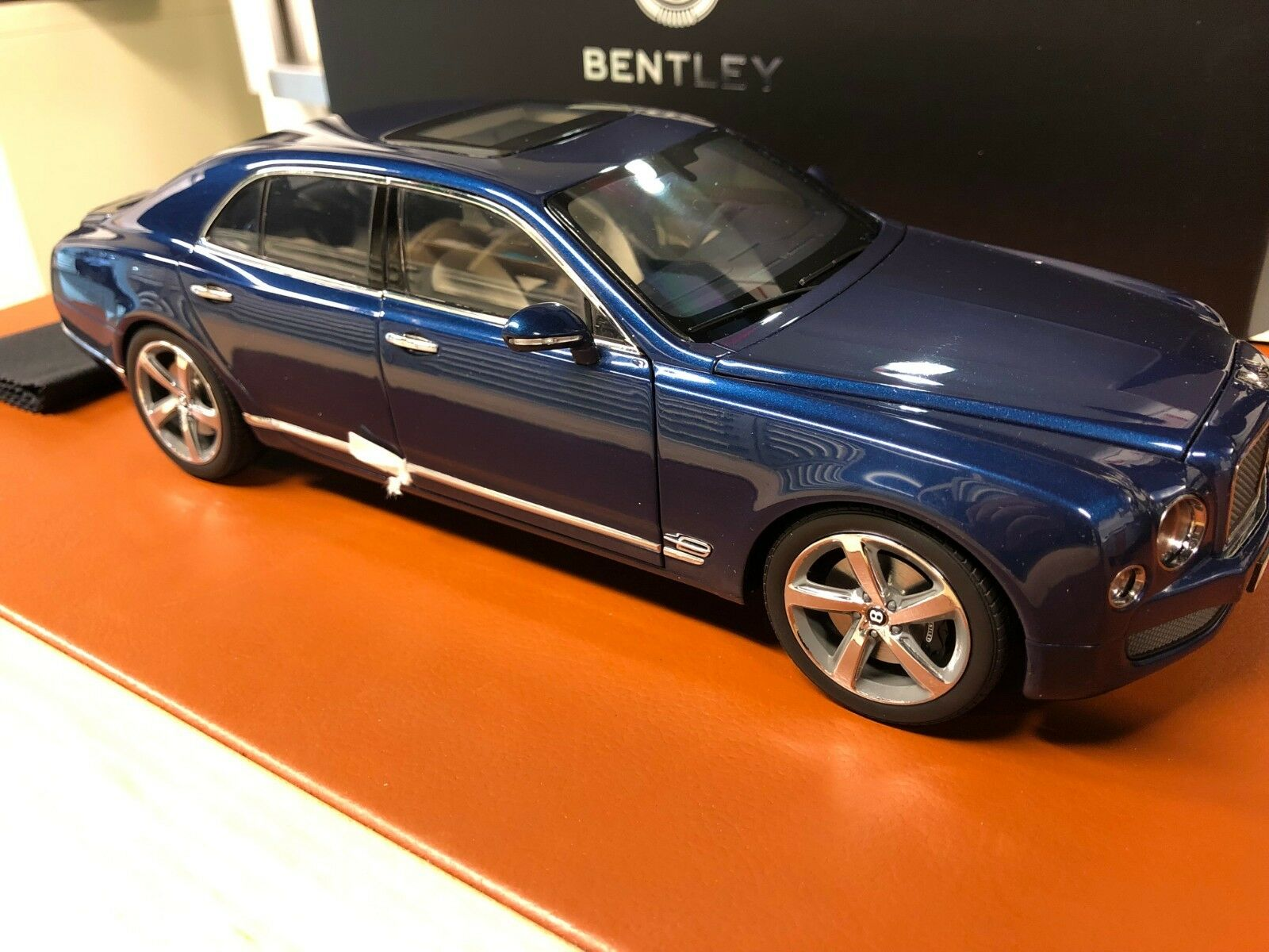 2014 Bentley Mulsanne Speed Marlin 1:18 Scale Model #BL1295, NEW