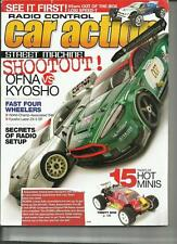 Radio Control Car Action April 2008 OFNA vs KYOSHO Fast Four Wheeler 15 Hot Mini