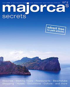 MAJORCA-039-s-SECRETS-Travel-Guide-NEW-Reisemagazin-NEU-ENGLISCHE-AUSGABE-03-2016