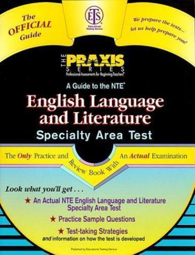A Guide to the Nte English Language and Literature Specialty Area Test (GUIDE T