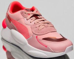Detalles de Puma del Rhinestone 9.8 Proto para Mujer Novia Rose estilo de vida informal Tenis Zapatos 370393 02 ver título original