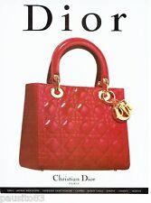 PUBLICITE ADVERTISING  116  1997   Dior  collection sac à main