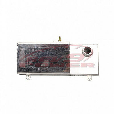 Aluminum Coolant Tank Replacement for for Ford Mustang 96-04 V8 Only AT-FM96 SVT Cobra Cap Not Included Rev9 5.0