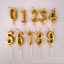 New Number 0-9 Happy Birthday Cake Candles Topper Decoration Party Supplies