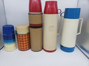 VINTAGE-THERMOS-Lot-of-5-Aladdin