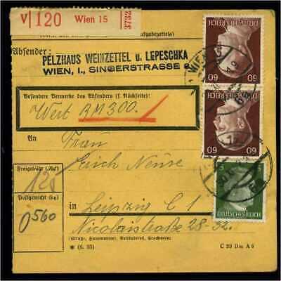 Paketkarte 1942 Wien Siehe Beschreibung Guter Geschmack 114664
