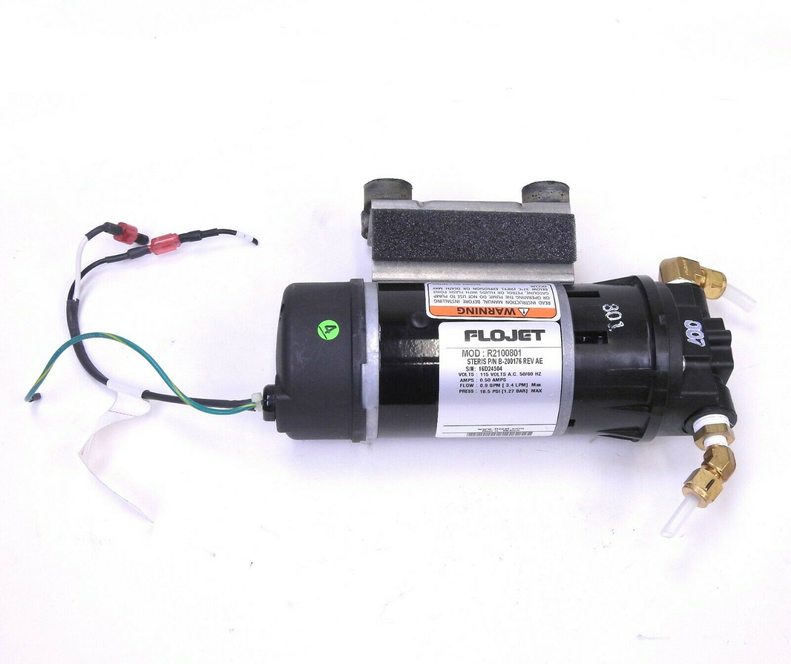 Steris FloJet Assy High Pressure Pump