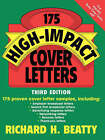 175 High-impact Cover Letters by Richard H. Beatty (Paperback, 2002)