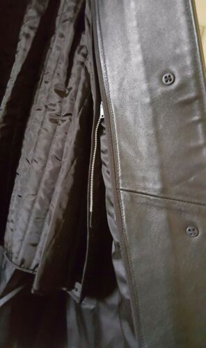 Tiboa Leathers Pelle thinsulate Uomo Giacca Vintage Di Rimovibili Cappotto w7Swdq