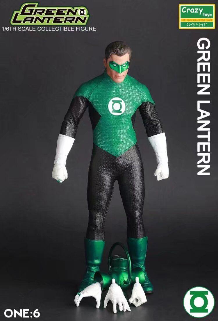 CRAZY giocattoli DC COMICS LANTERNA verde 16TH da collezione Hal Jordan azione cifra