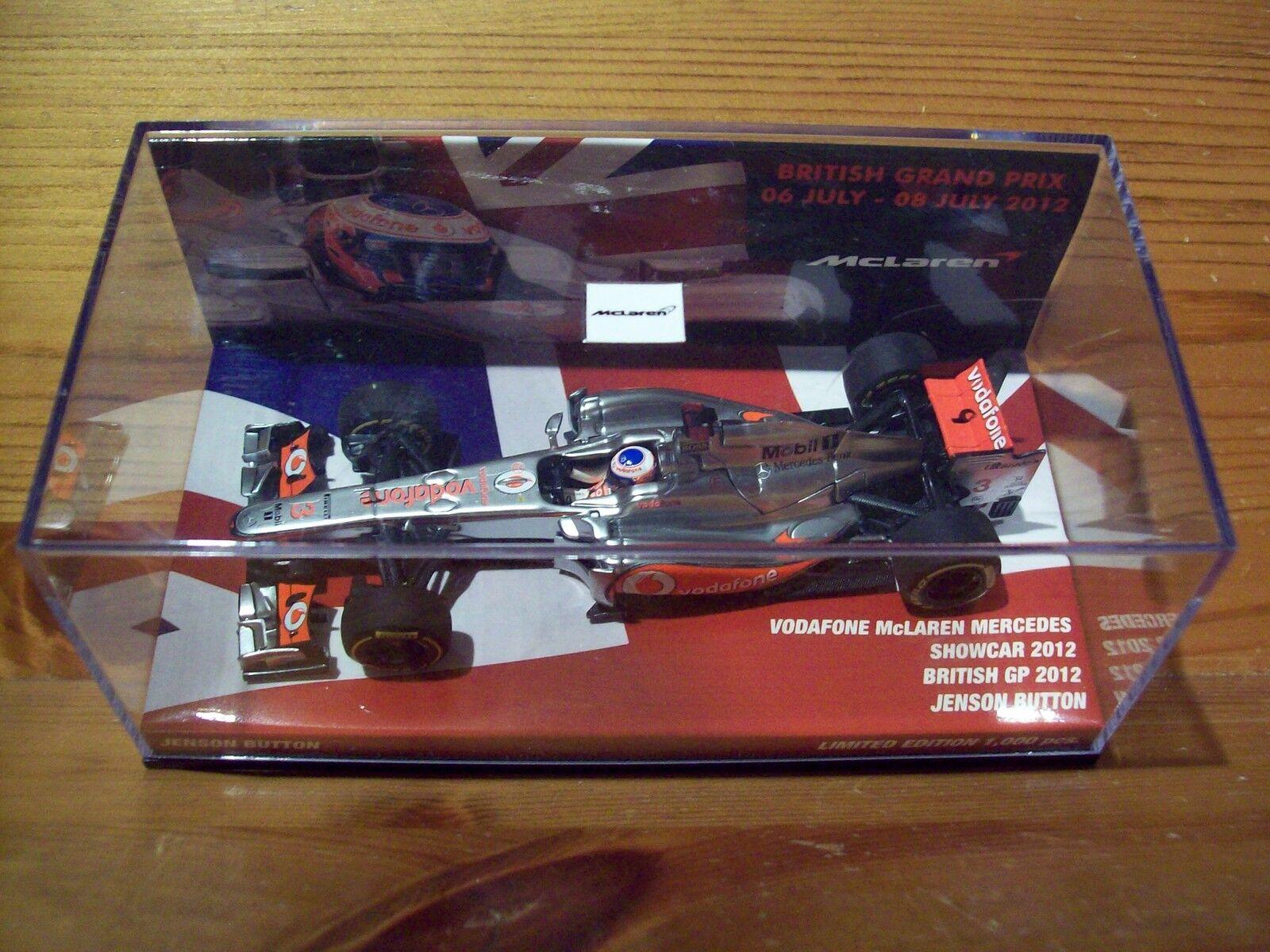 1 43 McLAREN MERCEDES car 2012 Jenson Button British British British GP 2012 9b849c