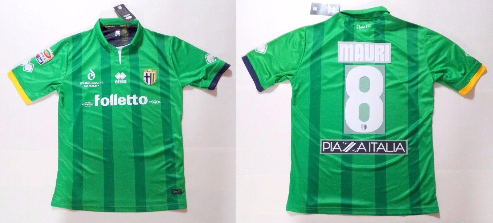 Parma Juventus Errea Mauri 8 Offiziell Match Jersey T-Shirt Wettspiel Issue