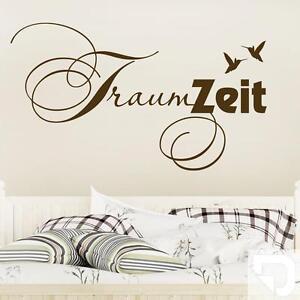 Details zu Wandtattoo Traumzeit - Wandtattoo fürs Schlafzimmer von  DESIGNSCAPE®
