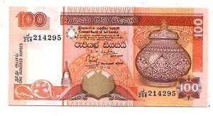 Sri-Lanka-100-rupie-2001-FDS-UNC-Pick-118-a-lotto-3544