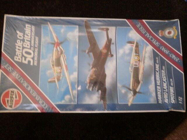 Airfix 10999  Battle of Britain 50th Anniversary Memorial Flight 1 72 scale.