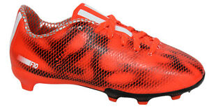 2c0d0827a56d Adidas F10 FG Firm Ground Junior Football Boots Soccer Red B39900 ...