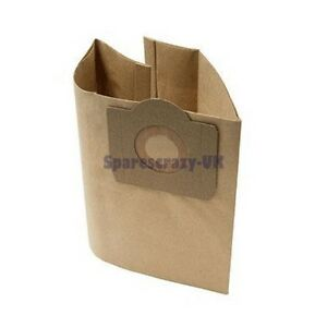 To Fit Wickes Wet Amp Dry Vacuum Cleaner Paper Dust Bag 5