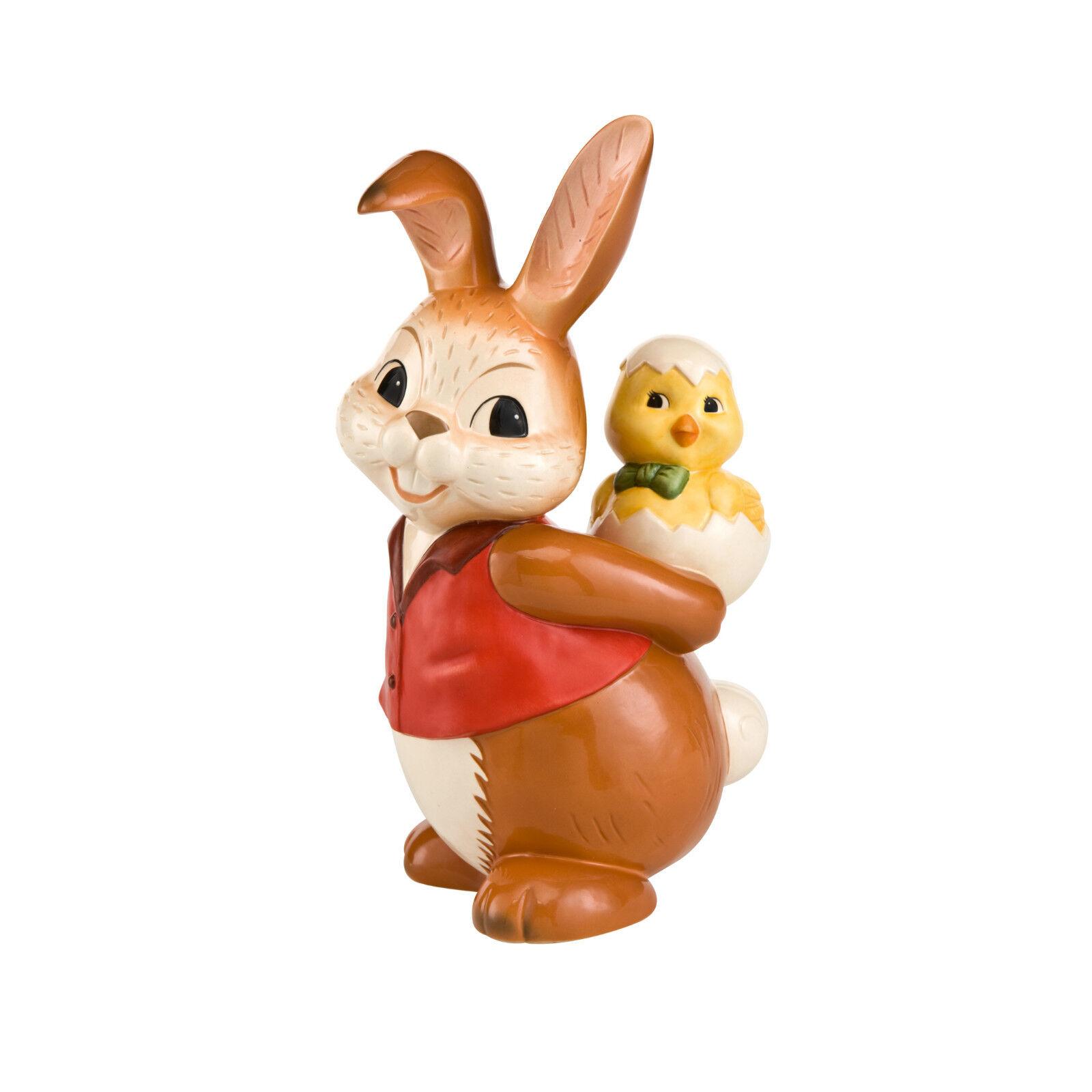 Goebel a cuestas grandes top conejo Pascua goebelhase conejo de pascua nuevo