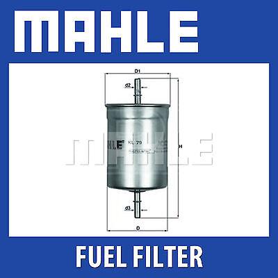 Seat Genuine Part Mahle Fuel Filter KL79 VW Fits Audi