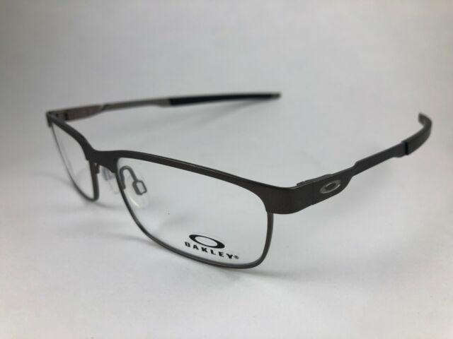 933a2b881fe New Authentic Oakley Eyeglasses OX 3222 0254 STEEL PLATE powder cement w  case