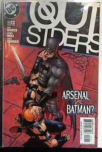 The-Outsiders-Vol-3-22-Vf-1st-Imprime-Dc-Comics