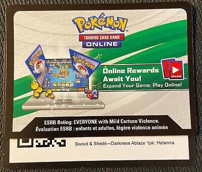 Hatenna Pokemon Sword /& Shield MINT SWSH040 Promo Rare Holo Card