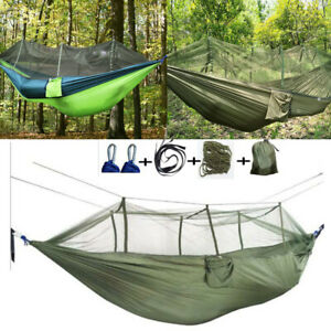 Portable-Hanging-Swing-Hammock-Outdoor-Sleeping-Bed-Chair-Travel-Camping-Beach