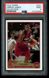 2003-04-Topps-Collection-Lebron-James-Rookie-PSA-9-Mint-221