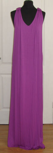 "14 RRP £35 LENGTH: 60/"" LOVE LABEL Knot Back Jersey Maxi Dress Size 12"