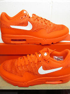 Details about Nike Air Max 1 Ultra Flyknit Mens Running Trainers 843384 601 Sneakers Shoes