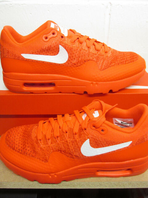 Details about Nike WMNS Air Max 1 Ultra Flyknit women lifestyle sneakers NEW bright crimson